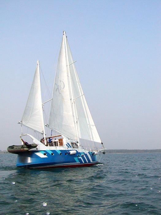 байкал парусная лодка