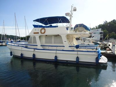 Yacht for sale motor yacht grand banks 47 europa gb for Grand banks motor yachts for sale