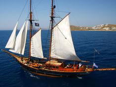 Яхта Prince de Neufchatel/Vintage Schooner