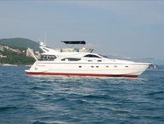 Яхта Ferretti 57 Fly