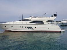 Яхта Dominator 64S